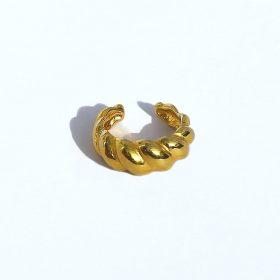 Pendiente Ear Cuff Gallonado Oro