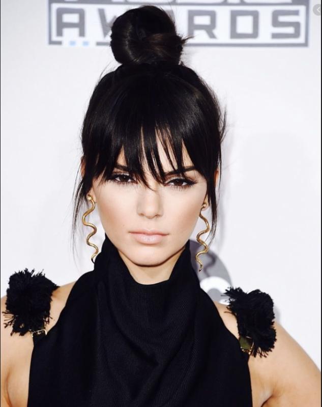 Estilo Kendall Jenner: Pendientes serpiente oro 18 y plata de ley 925, aros, mini pendientes de aro, colgantes de serpiente.